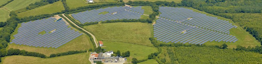 Solar Panel Farm Groundworks